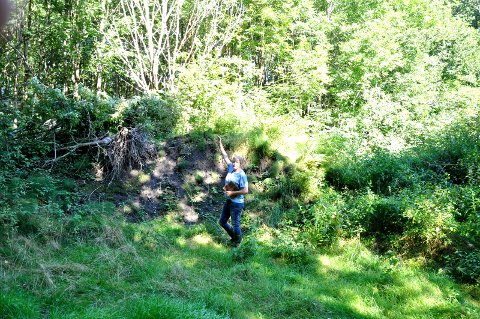 SÅ HØYT: Brita Moholt mener jorduttaket er skadelig for miljøet.