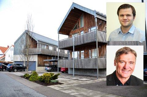 VEDTEKTSENDRINGER: Advokat Vidar Heimset og advokat Olav Vilnes støtter tingrettens dom. Noe annet enn flertallsbeslutninger kan gjøre det vanskelig å drive og rehabilitere boliger i sameiet.