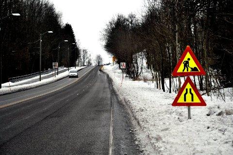 OBS: Gunnerødbrekka er it neste uke snevret inn på grunn av bygging av støyskjerm.