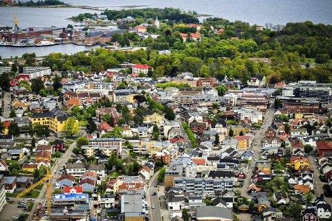NESTEN HALVPARTEN: 45 prosent av alle innbyggerne i Horten mottar en eller annen form for ytelse fra NAV.