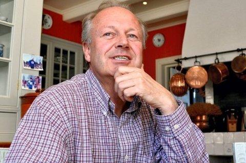 BEKYMRET: Einar C. Nagell-Erichsen har lenge vært bekymret for drifen ved Semb hovedgård. (Bildet er tatt i en annen sammenheng)