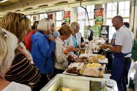 VOKSER: Horten Matfestival ble startet i 2016 - og vokser seg bare større år for år.