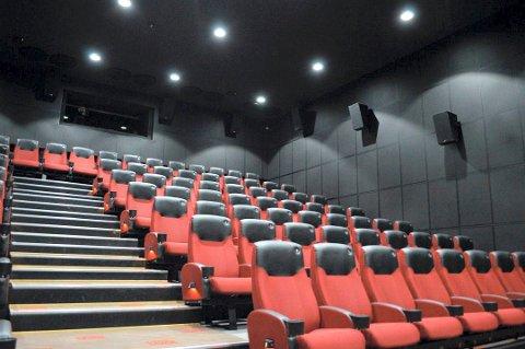 I SALEN: I høstferien håper kinosjefen å fylle så mange seter som reglene tillater.
