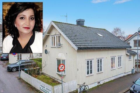 TIL PRISFORLANGENDE: Det var flere som var på visning da leiligheten i Løkkegata 3 ble lagt ut for salg, men Yasmin Walayet var kjapp med å legge inn bud til prisantydning på 1.790.000 kroner. Dermed ble den hennes.