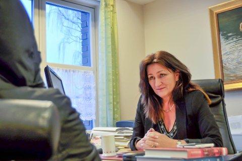 BISTANDSADVOKAT: Kristin Hovden Norstedt har bistått de to søsknene som har anmeldt sin far for vold og mishandling.