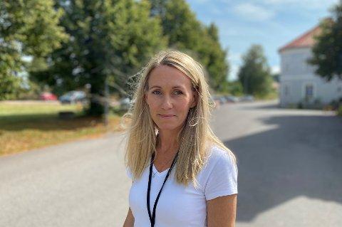 VAKSINEKOORDINATOR: Linda Mehammer er godt fornøyd med at så mange som 9 av 10 hortensere takker ja til vaksine mot covid-19.