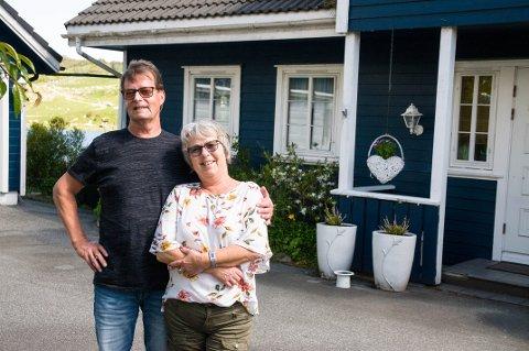 Alf Petter og Reidun har bodd på gården på Bråstein i 31 år, men har satt alle oppussingsprosjekter på vent i ti år i påvente av nye E39.