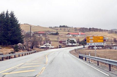 Statens vegvesen skal utbedre den 7,5 kilometer lange strekningen mellom Bue og Vikeså.