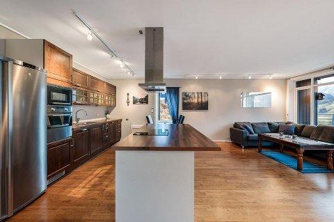 Denne leiligheten er Gjesdals rimeligste, men har vist seg å være vanskelig å selge.