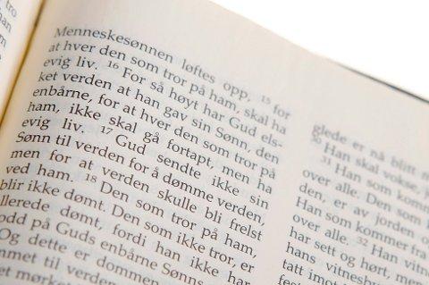 For første gang er det like mange som svarer ja som nei på spørsmålet «Tror du på Gud». (Foto: Håkon Mosvold Larsen, NTB scanpix/ANB)