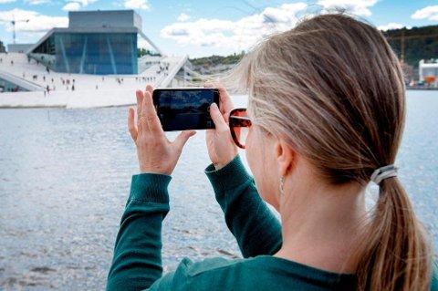 PRØV DEG: Du må tørre å prøve deg fram for å få gode mobilbilder, ifølge ekspert.