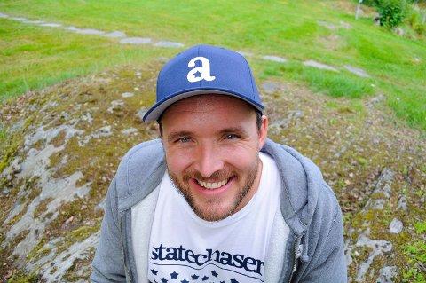 NY DAGLIG LEDER: Daniel Larsson er ny daglig leder i Kongsvingers golfklubb.