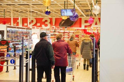 BILLIGST: Hypermat i Charlottenberg er billigst, viser en stor kundeudersøkelse.
