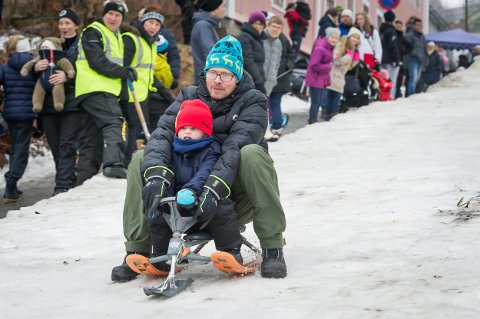 IKKE I ÅR: Slik så det ut under Vinterfestivalen i fjor.
