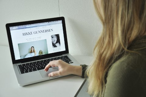 BLOGGER OM SYKDOM: Les mer om Rikke på bloggen hennes: ragunnersen.blogg.no.