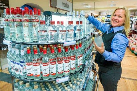 VODKA: Mange bruker vodka for å lage likør.