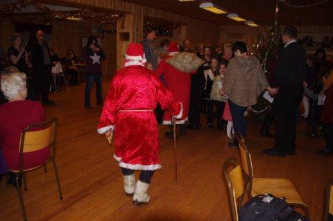 Juletrefest - her fra Risberget i fjor.