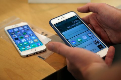Apple har solgt over én milliard mobiltelefoner de siste ti årene.
