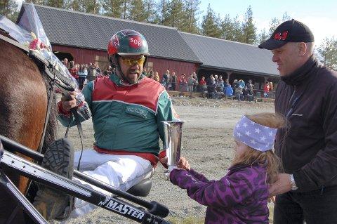 VANT OG VANT: Svein Olav Ruud hadde en stor dag på Biri søndag.