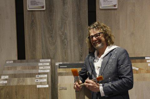 TV-PROFIL: Einar Nilsson, kjent fra TV 2-programmet «Tid for hjem», var på plass under åpningshelga.