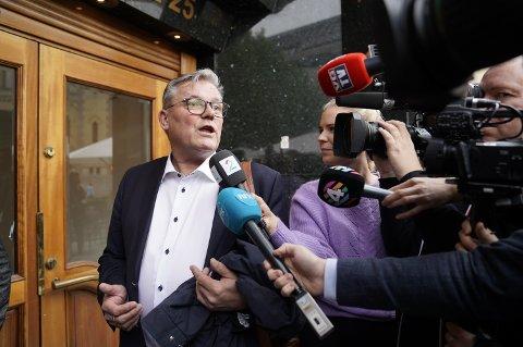 Fylkesleder i Innlandet Frp, Johan Aas.  Foto: Heiko Junge / NTB scanpix
