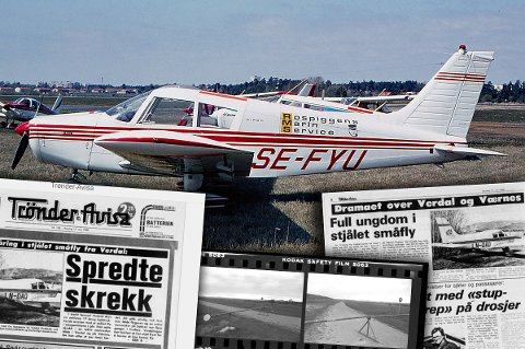 Her er flyet fotografert i 1972 i Sverige, før det ble solgt til Norge og endret registreringsnummer til LN-DAQ.