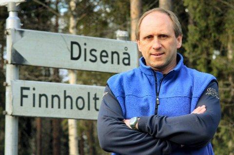SIER JA: Vidar Sanderud mener det beste er å legge den nye motorveien på sørsiden av Glomma.
