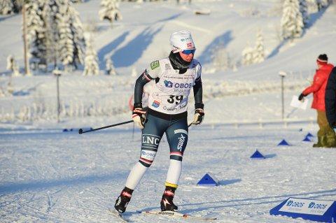 HISTORISK: Hanna Midtsundstad har brutt nok en barriere ettersom hun er tatt ut i den første norske VM-troppen i kombinert.