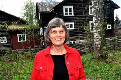 HØSTPROGRAM: Kirsti Johnson, leder av Sigrid Undset-selskapet.     Arkivfoto: Ingunn Aagedal Schinstad