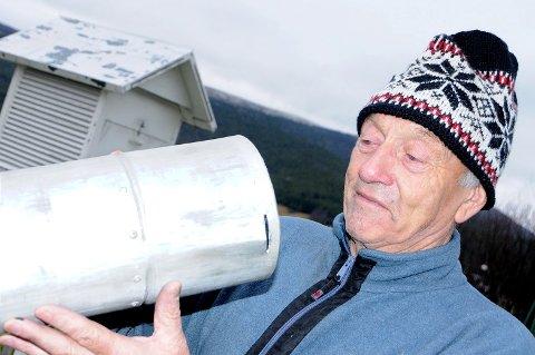 Det var ikke mye nedbør å finne i måleren hos Olav P. Amundgård i september, oktober og november 2015.