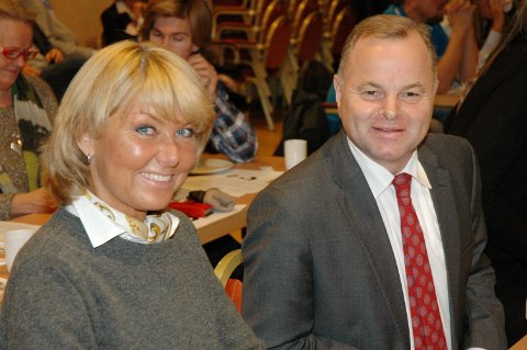 Olemic Thommessen er det selvsagte førstevalg for Oppland Høyre. Hanne Velure endte til slutt på tredjeplass på stortingsvalglista.