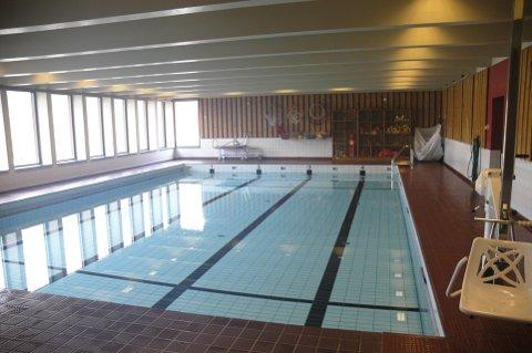 Omattgjering: Svømmebassenget i Utgard.