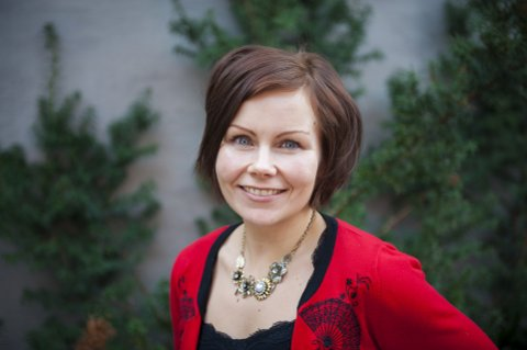 PROVOSERER: Sanna Sarromaa får APs ordførerkandidat i Gjøvik til å tenne.