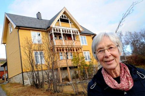 HEIM TIL JUL: Etter det store restaureringsarbeidet i Lund, kan Bjørg Nordset flytte heim til jul.