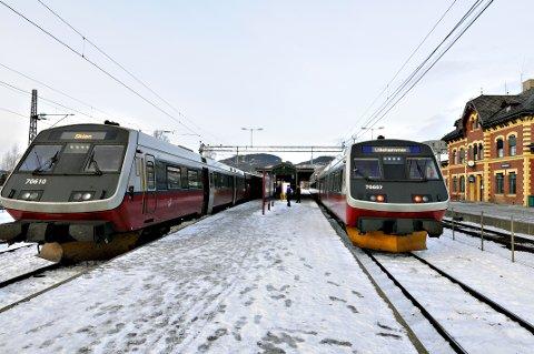 UVISST: Nå er det usikkerhet om det i det hele tatt blir to spors jernbane helt frem til Lillehammer.