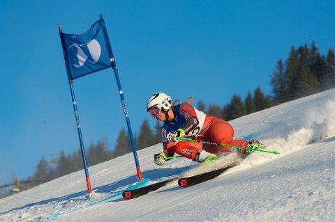 Mina Fuerst Holtmann inn til andreplass i Hafjell mandag.
