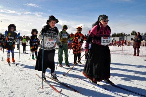 Mer sosialt: 11. mars kan kvinnene gå i Ingas fotspor i fem kilometer. Foto: GD arkiv