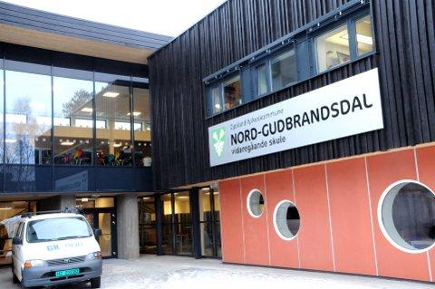 OPPGANG: Nord-Gudbrandsdal vidaregåande skule avdeling Dombås opplever større søkning enn på flere år.