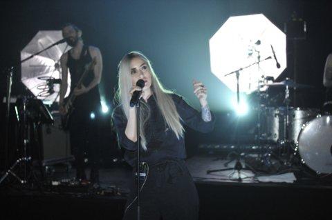 NY SINGEL: Vokalist Ingrid Helene Håvik. Foto: A. Espe
