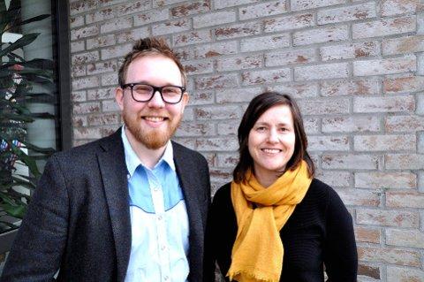 TAR JAPAN TIL LILLEHAMMER: Kunstnerisk rådgiver, Mathias R. Samuelsen, og festivalsjef Marit Borkenhagen.