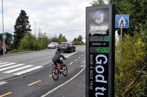 LILLEHAMMER:  40 prosent av befolkningen i kommunen bor innenfor 10 minutter med sykling fra sentrum.