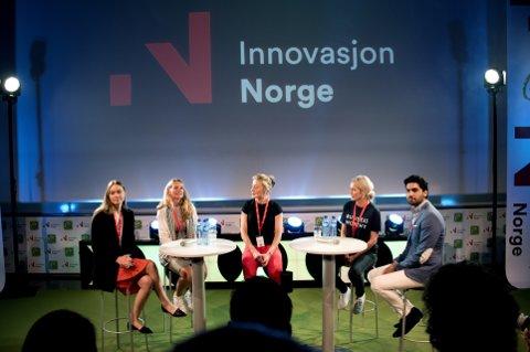 GRÜNDERE: Når gründere samles - sammen med Innovasjon Norge - som på Høgskolen i Lillehammer, er det også viktig å ha fokus på sikkerhet og opplysninger. Innsenderen spør om vi sikrer forretninger godt nok.