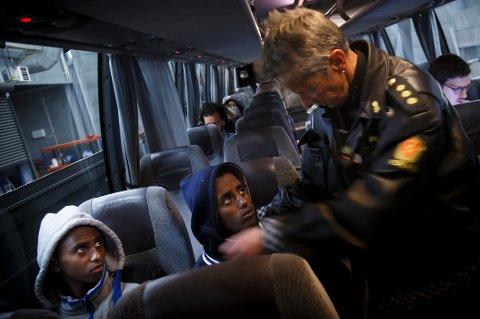 SV vil ha asylbarna inn på skolene, og innvandringsministeren ut av regjeringskontorene. (Illustrasjonsfoto)