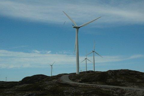 Kraft: - Vindkraftverk er negativt for våre turområder, jaktterreng og natur, skriver representanter for friluftsinteressene i Oppland. Foto: Karen Bleken