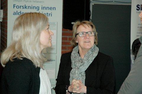 PSYKIATRI PÅ FLYTTEFOT: Administrerende direktør Alice Beathe Andersgaard vil fortsette arbeidet med å flytte psykiatri til lokalmedisinske senter.