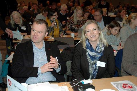 OMSORG: Innsenderen mener ordfører Espen Johnsen og ordførerkandidat Ingunn Trosholmen legger veien åpen for privatisering av eldreomsorgen i Lillehammer.