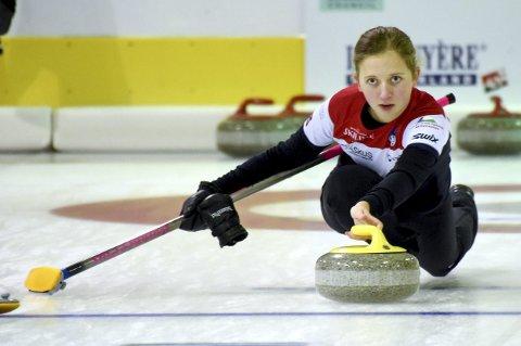 Martine Vollan Rønning og Lillehammer Curlingklubb sikret seg NM-bronse i mixed.