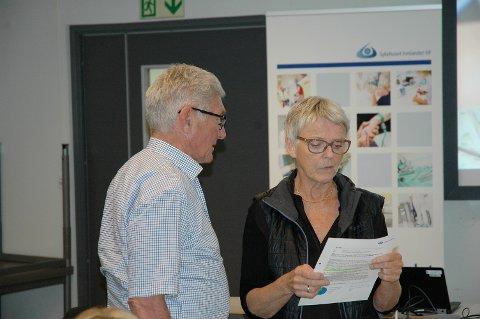 Styreleder  Anne Enger og nestleder Tor Berge fortsetter i styret i Sykehuset Innlandet