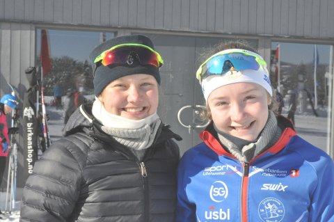 Hedda Bakkemo og Julie Moger gikk 15-kilometeren under årets Ingalåmi.