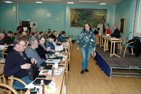 På veg til toppen: Kristina Hegge tar over ledelsen av Oppland Bondelag på årsmøtet i Gausdal